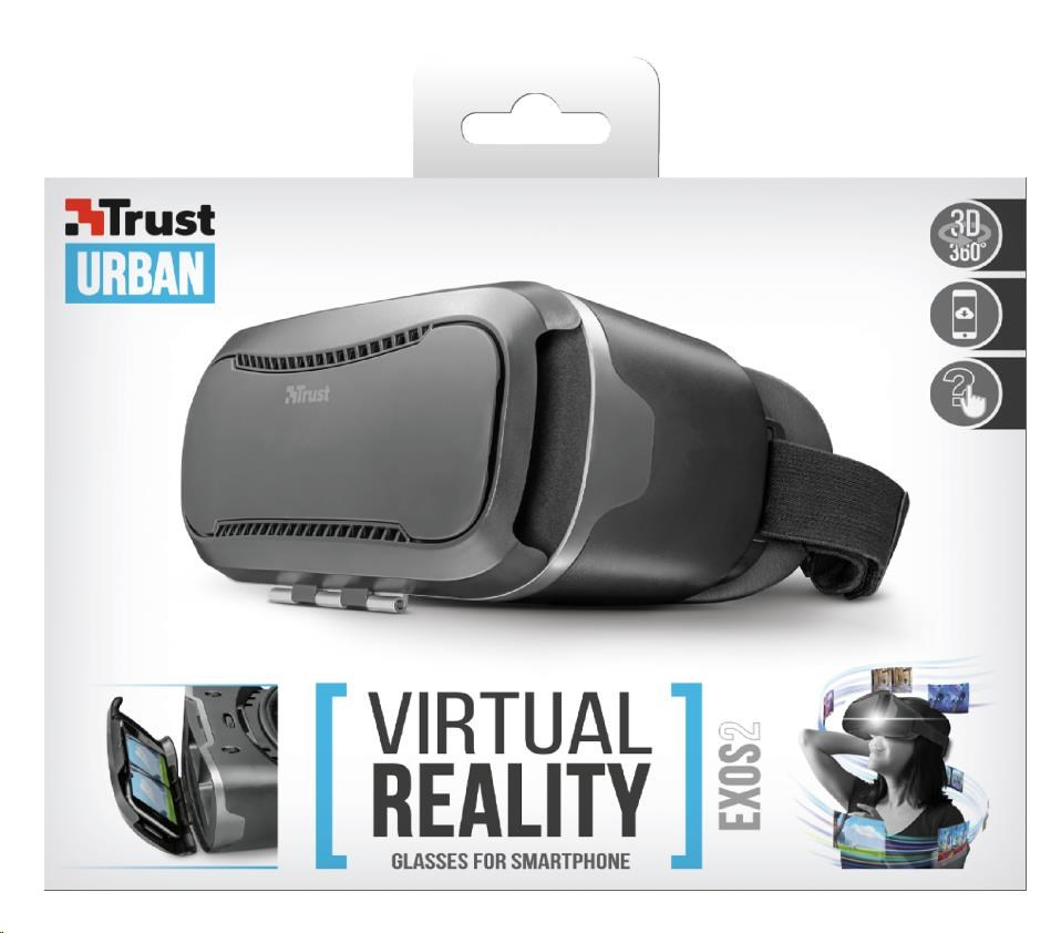 TRUST Exos 2 Virtual Reality Glasses for smartphone