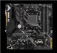 ASUS MB Sc AM4 TUF B450M-PLUS GAMING, AMD B450, 4xDDR4, VGA, mATX
