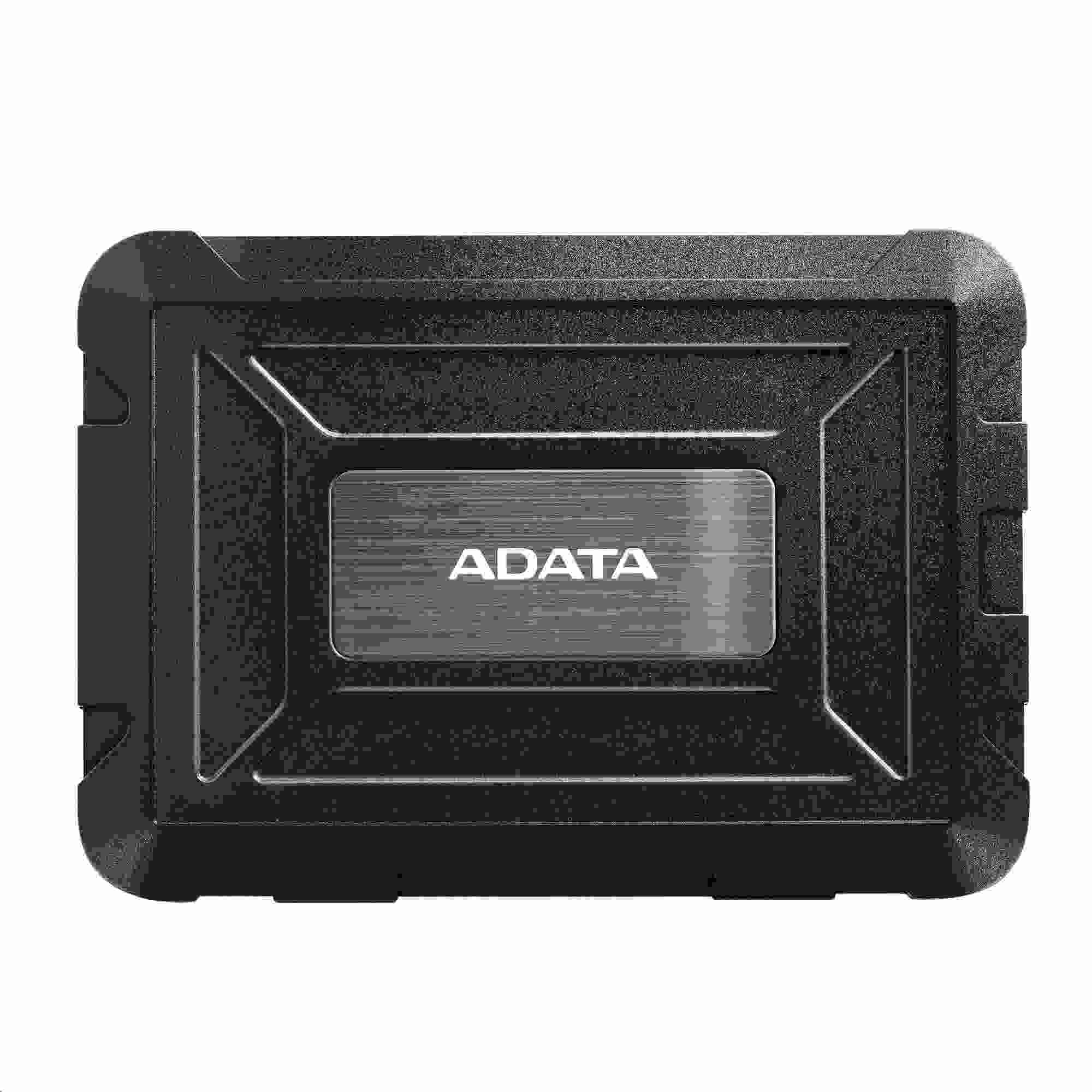"ADATA Externí BOX ED600 Target audience 2,5"" USB 3.1 (7 mm/ 9.5mm HDD/SSD) black"