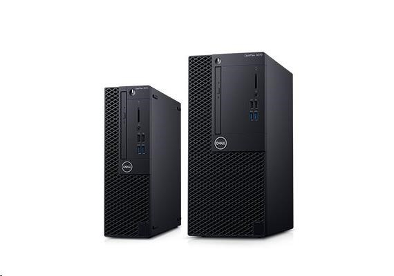 DELL Optiplex 3070 MT/i3-9100/8GB/256GB SSD/Intel UHD 630/DVD RW/Kb/Mouse/260W/W10Pro/3Y Basic Onsite /3070-5438/