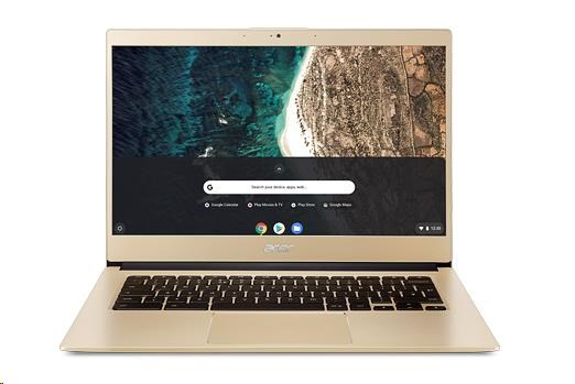 "ACER Chromebook 14 (CB514-1H-P776) - Pentium N4200,4GB LPDDR4,eMMC 128GB,HD Graphics,14"" FHD IPS,Google Chrome,zlatá"