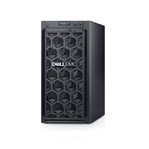 "DELL PowerEdge T140/4 x 3.5"" Cabled Drive/Intel Xeon E-2224/16GB/2x4TB 7.2K NLSAS/DVD RW/H300+/iDrac9 Bas/3Y Basic OS"