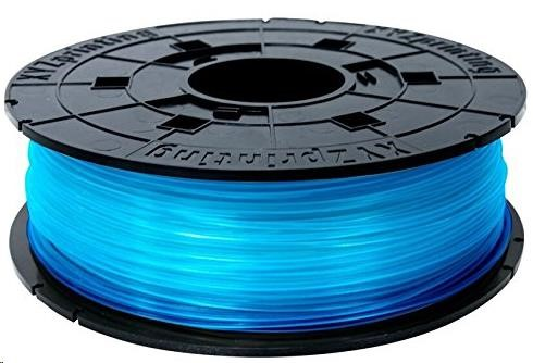 XYZ da Vinci 600gr Clear Blue PLA Filament Cartridge
