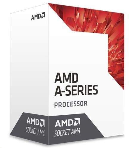 CPU AMD A6 9500 (Bristol Ridge), 2-core, 3.8GHz, 2MB cache, 65W, socket AM4, VGA Radeon R5, BOX