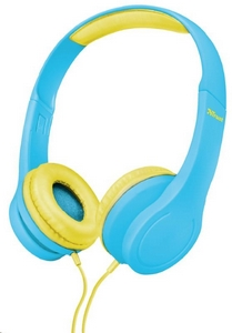 TRUST sluchátka Bino Kids Headphones - blue