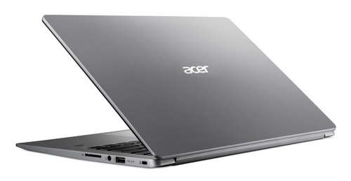 "ACER NTB Swift 1 (SF114-32-P1RE) - pentium N5000@1.1GHz, 14"" IPS FHD,4GB,128SSD,HD graphics,čt.pk.,W10S,silver"