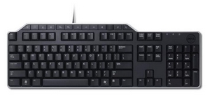 DELL Keyboard : US/Euro (QWERTY) DELL KB-522 Wired Business Multimedia USB Keyboard Black (Kit)