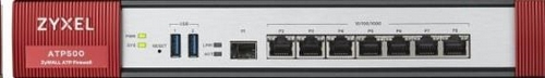 Zyxel ATP500 firewall, 7 Gigabit user-definable ports, 1*SFP, 2* USB with 1 Yr Bundle
