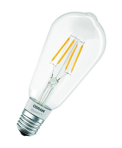 OSRAM SMART+ HomeKit Filament Edison60 E27 DIM Bluetooth 240V 5,5W (krabička 1ks) 15000h