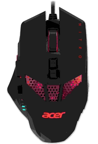ACER NITRO GAMING MOUSE - max. 4000dpi, 8 progr. buttons, 4 color backlight, acceleration 20g, wired (Retail pack