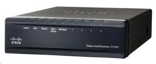 Cisco VPN Router RV042, 4xLAN 10/100 + 2xWAN, REFRESH