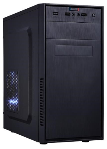 EUROCASE skříň MC X201 EVO black, micro tower, USB 3.0, 2x audio, bez zdroje
