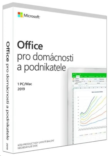 Microsoft Office Home and Business 2019 CZ (pro podnikatele)