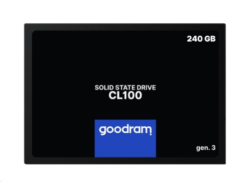 GOODRAM SSD CL100 Gen.3 240GB SATA III 7mm, 2,5""