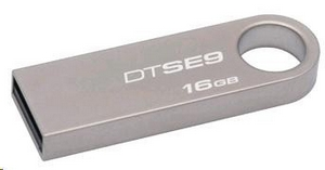 Kingston 16GB DataTraveler flash disk USB DTSE9H - kovový kryt