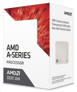 CPU AMD A12 9800E (Bristol Ridge), 4-core, 3.8GHz, 2MB cache, 35W, socket AM4, VGA Radeon R7, BOX