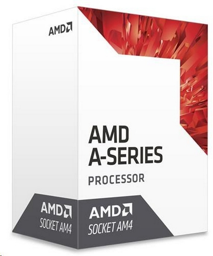 CPU AMD A6 9500E (Bristol Ridge), 2-core, 3.4GHz, 2MB cache, 35W, socket AM4, VGA Radeon R5, BOX