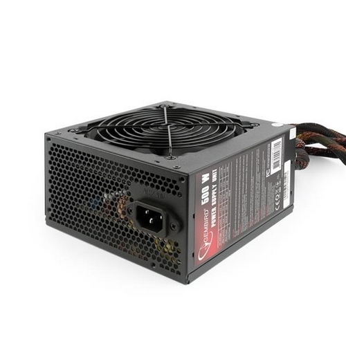 "GEMBIRD zdroj 500W ATX/BTX, active PFC, 12 cm fan, ""BlackBoxPower"" series, 80+Bronze"