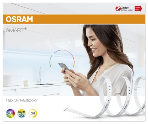OSRAM SMART+ FLEX 3P Multicolor (1,8m) RGBW Tun.White DIM LIGHTIFY ZigBee 240V 11W 100° IP20 (krabička 1ks) 20000h
