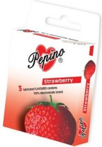 DRG.KONDOM PEPINO STRAWBERRY /24/