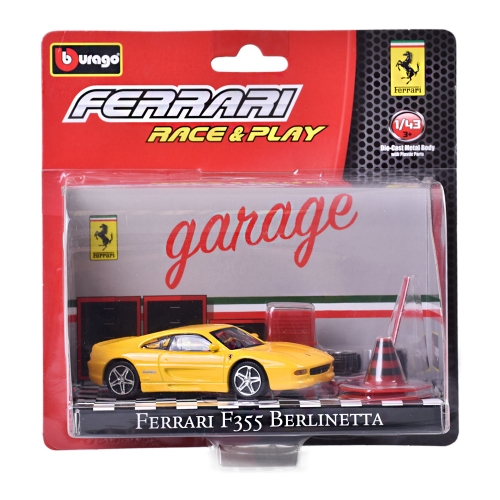 Bburago 1:43 ferrari race and play 7druhov