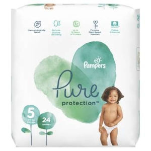 Plienky PAMPERS Pure Protect S5 (24KS/FOL) 11+kg