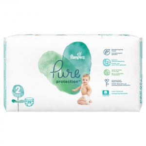 Plienky PAMPERS Pure Protect S2 (39KS/FOL) 4-8kg